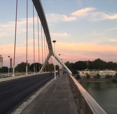 Bridge across the Guadalqivir River