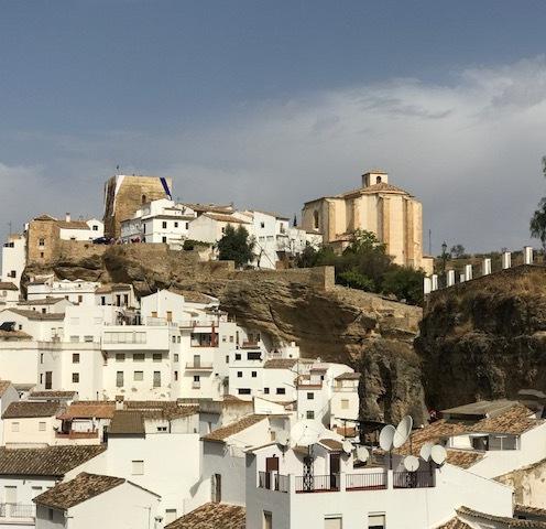 Setenil Church and Fortress