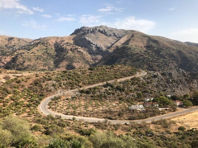 View from Cueva de Pilates